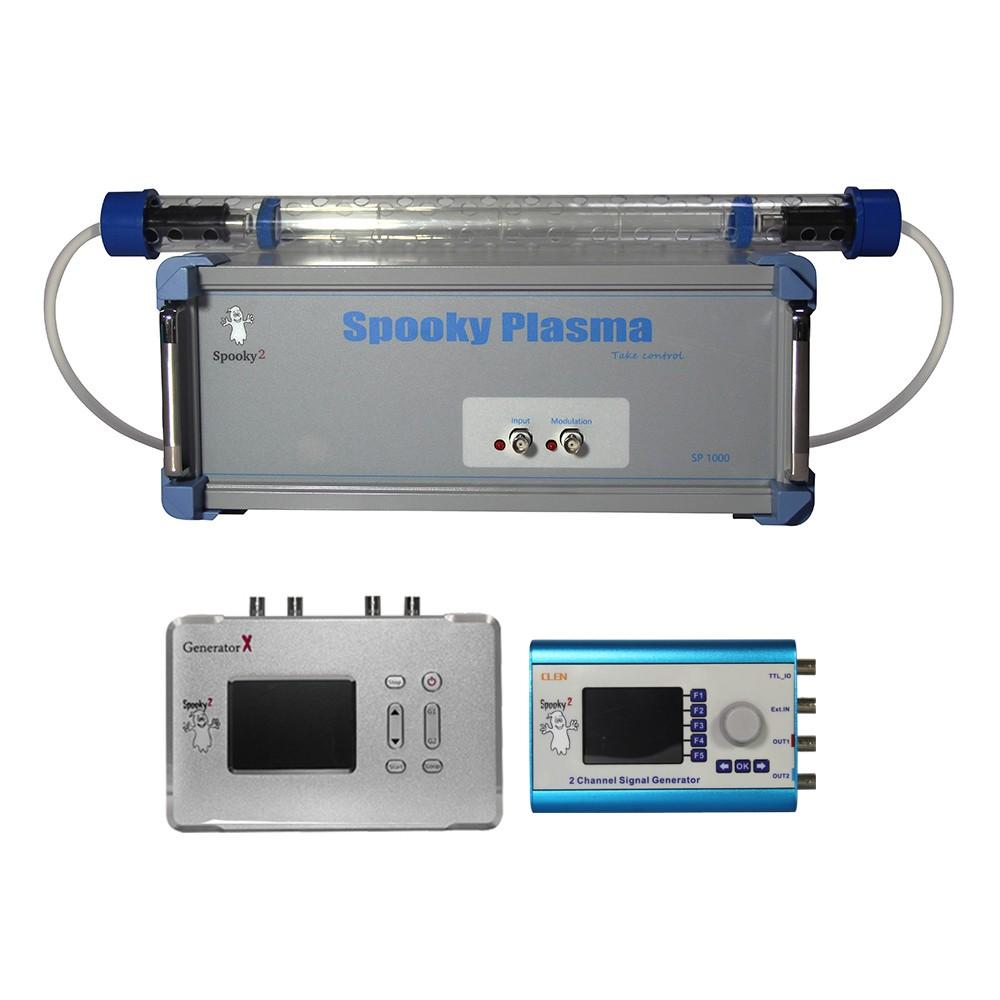 Zestaw Plazmy Generator Spooky z Prostą Tubą Plazmową